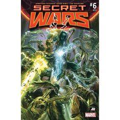 Secret Wars (2015-) #6 Written by Jonathan Hickman Art by Esad Ribic Cover by Alex Ross The Final War!