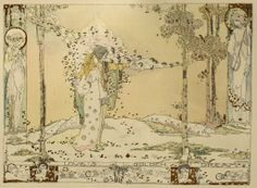 loves golden dream by  Jessie M. King  via windling