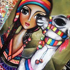 Murals Street Art, Arte Popular, Angel Art, Art Journal Inspiration, Big Eyes, Rock Art, Cute Drawings, Art Pictures, Art Girl
