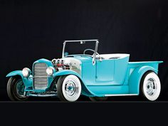 1927 Ford Roadster Pickup Custom Headlights Photo 1