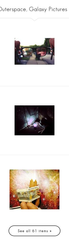 """Outerspace, Galaxy Pictures ♥"" by darakristi ❤ liked on Polyvore featuring pictures, backgrounds, photos, pics, photography, people, fillers, icons, set fillers and filler"
