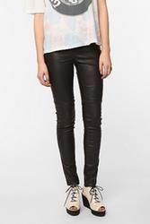 Emily D Vegan Leather Legging - Black   $68.00