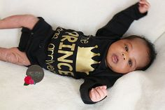 Items similar to Prince Has Arrived newborn boy black and gold bodysuit ,take home outfit , Newborn boy hospital gown , Baby Boy Gift on Etsy Baby Shower Gifts For Boys, Baby Boy Gifts, Baby Boy Shower, Baby Showers, Bringing Baby Home, Minnie Mouse Birthday Outfit, 1st Birthday Outfits, Take Home Outfit, Coming Home Outfit