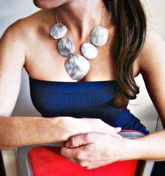 Silberne Halskette Anweisung / / Anweisung von OneWorldTwoHands