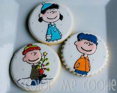 Beautiful peanuts gang cookies by Color Me Cookies