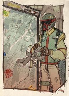 Star Wars 80's Highschool