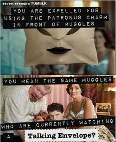 Haha, take that, Ministry of Magic!