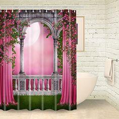 Foog Garden House Shower Curtain Pink Floral Full Moon Sh... https://www.amazon.com/dp/B01NBJYF7K/ref=cm_sw_r_pi_dp_x_OdswybRQ9K90N