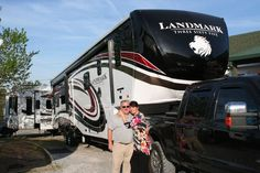Congratulations to the Fotakis family on their new #Landmark 365 Arlington from RV's For Less - GOOD RVING! Happy #Camping! Photo Credit: http://www.rvsforless.net/