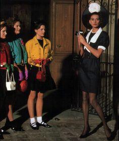 Chanel, Elle magazine, April 1988.