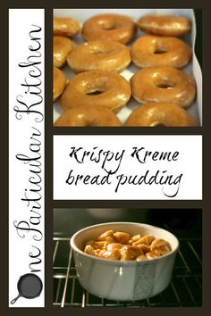 Krispy Kreme bread pudding...ah-maze-ing! I doubled the condensed milk :}