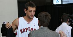 Marco Belinelli 2009 on the Toronto Raptors