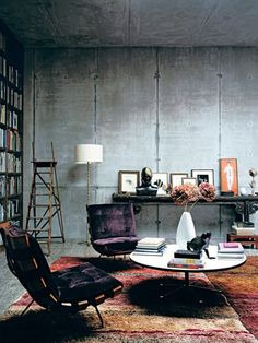 Elle Japan: House in Berlin inspired by the Mies van der Rohe and Tadao Ando