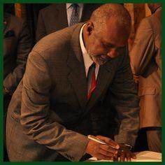 BCRP Director Ernest Burkeen was sworn in on April 24, 2013.