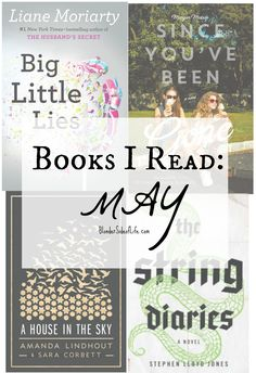 Books Read May