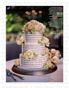 CAKE Design by Sweet on Cake. Ph.: Braedon Photography. #cake #design #weddingcake #fashion #look #style #wedding #bride #weddingdress #ideas