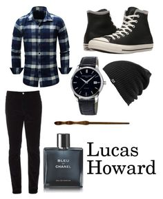 """Lucas Howard"" by beautifulyou57 on Polyvore featuring Gucci, Converse, Frédérique Constant, Burton, Chanel, men's fashion and menswear"