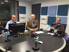 """Antonio Banda, CEO de Feelcapital, junto al periodista económico Rafa Nieto en Radio Inter (Radio Intereconomía). """"Acompañamos a nuestros clientes en su estrategia de inversión"""", dijo Banda. #FondosDeInversión (1 de marzo de 2016)."""