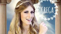 fantasia de grega cabelo - Pesquisa Google