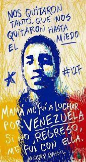 ERMITA 52: Venezuela: No hay barricada militar que valga cuan...