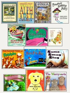 Books with alliteration - Re-pinned by #PediaStaff. Visit http://ht.ly/63sNt for all our pediatric therapy pins