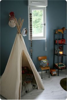 I remember sharing an outdoor tepee with my brother Jake when we were little. I'd definitely invest in one for my kid.