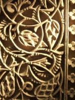 """ANICONISMO: el arte islámico evita representar """"figuras"""" porque esta facultad se le reserva a Dios (aunque a veces aparecen en edificios c..."""