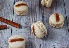 Na vidličku: Skořicové makronky Macarons, Macaroons
