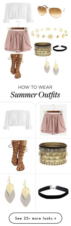 """Collection Of Summer Styles    """"Summer Outfit"""" by kiana-heard on Polyvore featuring Sans Souci, WithChic, Tom Ford, Charlotte Russe, Daytrip and Miss Selfridge    - #Outfits"""