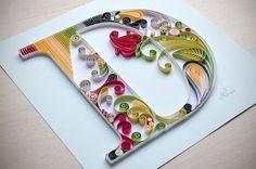 Meio Ligado: Quiling Paper - Alfabeto