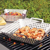 Spice Up the Grill: Use a Wok - Our Favorite Grilling Tools - Coastal Living Mobile Kitchen Tools And Gadgets, Cooking Gadgets, Cooking Tools, Kid Cooking, Top Gadgets, Smoker Cooking, Travel Gadgets, Bbq Grill, Barbecue