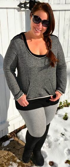 Fashionista: Love this Plus Size Sweater