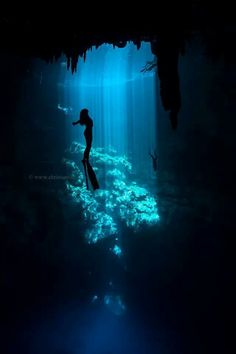 Freediving is a form of underwater diving that relies on a diver's ability to hold his or her breath until resurfacing rather than on the use of a breathing apparatus such as scuba gear.