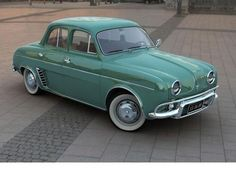 1959 Renault Dauphine...We moved to Maryland in the Summer of 1961 in Daddy's last stick-shift car.
