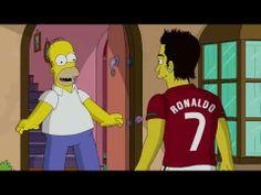 Cristiano Ronaldo on The Simpsons HD