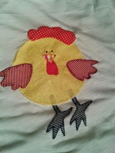 Sweet handmade things - patchwork: Camiseta Pollito Patchwork