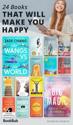 24 Feel-Good Books That Will Make You Happy 24 uplifting books that will make you happy — pick up these books to lighten your spirits Feel Good Books, Books You Should Read, Best Books To Read, I Love Books, My Books, Good Audio Books, Good Books To Read, Books To Read In Your 20s, Books To Read For Women