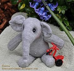 diy sock elephant