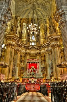 The Cathedral of Malaga, Spain