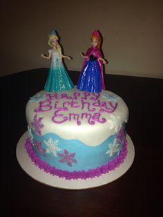 Frozen birthday cake - follow me on Instagram @bubbaloobakes