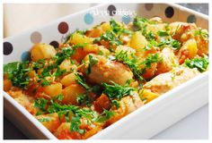 Potato Salad, Curry, Food And Drink, Potatoes, Meat, Chicken, Dinner, Ethnic Recipes, Kitchens