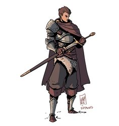 Character Art, Character Design, D D Characters, Fictional Characters, Anime Poses Reference, Skyrim, Cute Art, Martial, Knight