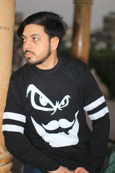 M. Sheheryar Naseer  - Mustache design print men T shirt    #MuhammadSheheryar #MuhammadSheheryarNaseer #MSheheryarNaseer #SheheryarNaseer #MSheheryar #Sheheryar  #Sheheryar_SEO #Sheheryar_WebDeveloper #Sheheryar_SEOSpecialist #BlueJeans #BlackShirt #BlacKTshirtandblue jeans #Men #Handsome #Fashion #Style #FashionCasual
