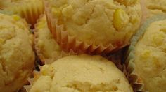 These sweet muffins incorporate corn kernels as well as corn meal for a bigger corn taste.