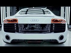 Now I'm torn between the Audi TT RS (my dream car since like 1999, when I got the teeny model to play with) and the super duper Audi R8.. just watch this and fall in love.
