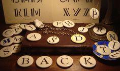 ceramic monogram necklaces - #iwantforchristmas #ormybirthday