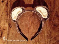 AS-kartelut: Nallepanta #crochet #masquerade Masquerade, Crochet, Kids, Young Children, Boys, Masquerades, Ganchillo, Children, Crocheting