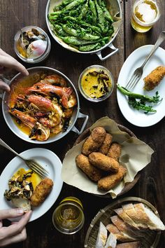 How to throw a tapas party.