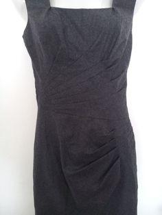 ERMANNO SCERVINO vestito lana e seta Tagl.42