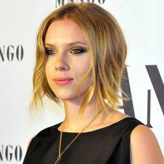 Scarlett Johansson et sa coupe courte au carré